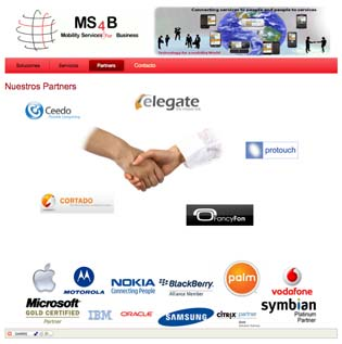 Partners de Mobility Services For Business