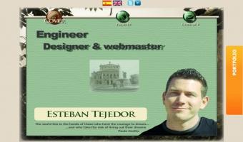 Esteban Tejedor personal website