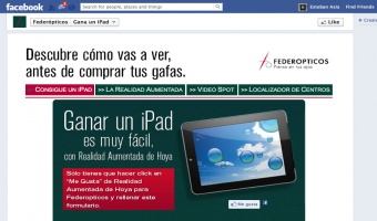 Win an iPad with Federopticos