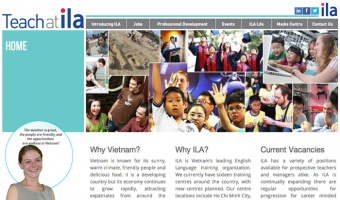 Teach at ILA · Vietnam